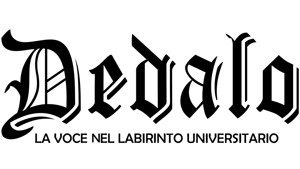 Logo intero di Dedalo Rivista, La voce nel labirinto universitario