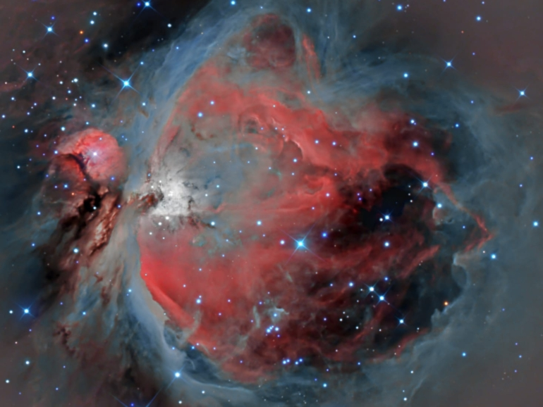 Astrofotografia dello spazio di Luca Dinoi