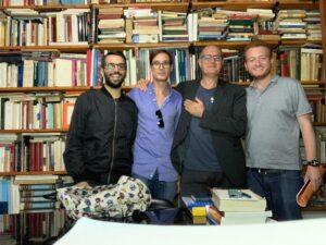 Gaetano Maria Russo con i suoi collaboratori